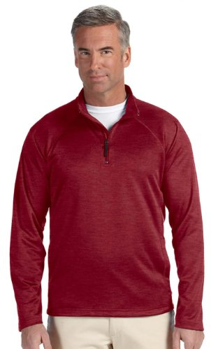 Devon & Jones DG440 Mens Stretch Tech-Shell Compass - Burgundy Heather -M