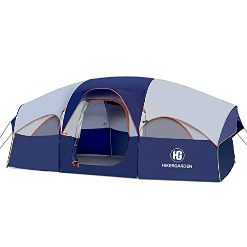 🥇 HIKERGARDEN Tent-8-Person-Camping-Tents