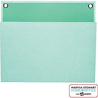 """Martha Stewart Home Office with Avery Large Shagreen Pockets, 12"""" x 10-1/4"""""""
