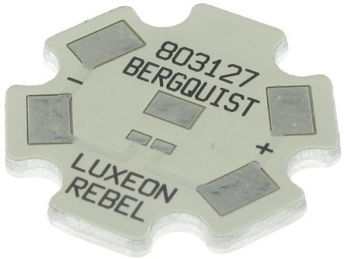 Thermal Substrates - MCPCB 1-UP INDV STAR LUXEON REBEL (1 piece)