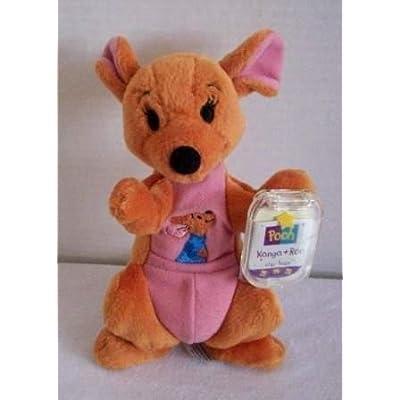 Mattel Disney Kanga and Roo Bean Bag Plush by Star Bean - 7 Inches: Toys & Games