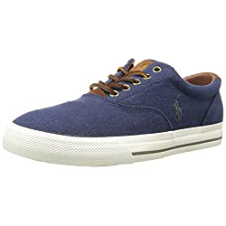 Polo Ralph Lauren Men's Vaughn Linen Fashion Sneaker