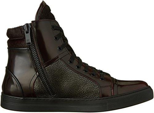 Kenneth Cole New York Homme Double En-tête Ii Fashion Sneaker Bordeaux