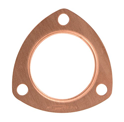 Mr. Gasket 7176MRG Copper Seal Triangle Collector and Header Muffler Gasket Copper Header Gasket