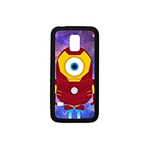 Sansung Galaxy S5 Mine Case, Despicable Me Minion Plastic and TPU Bumper Case for Samsung Galaxy S5 mini