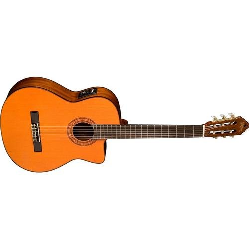 Washburn Classical Series C5CE Classical Acoustic Electric Guitar, Natural