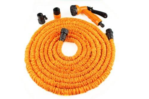 new-spray-nozzle-water-latex-deluxe-expanding-flexible-garden-water-hose-25-ft-feet-orange