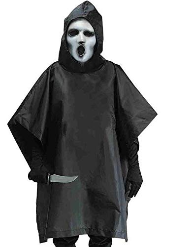 Fun World Big Boy's MTV Scream Costume Childrens Costume, Black, Medium -