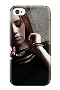 Durable Defender Case For Iphone 4/4s Tpu Cover(ariel)