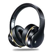 NISHEN ワイヤレスヘッドホン ANC機能搭載  ヘッドセット密閉型 iPhone/iPad/Android などに対応