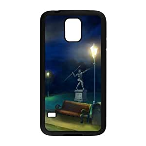 Professor Layton vs. Phoeni Wright Ace Attorney Samsung Galaxy S5 Cell Phone Case Black xlb2-019639