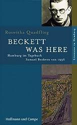 Beckett was here: Hamburg im Tagebuch Samuel Becketts von 1936