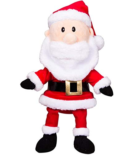 "Cuddly Soft 8 inch Stuffed ""Mr. C"" Santa Claus Figure...We stuff 'em...you love 'em! from Stuffems Toy Shop"