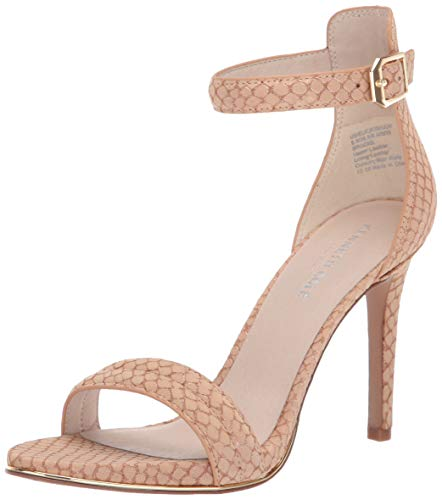 Kenneth Cole New York Women's Brooke High Heel Dress Sandal with Ankle Strap Heeled