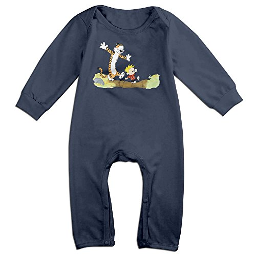 [OLGB Babys Calvin Hobbes Pinterest Long Sleeve Outfits 6 M] (Calvin And Hobbes Couple Costume)