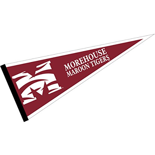 College Flags and Banners Co. Morehouse Maroon Tigers (Tigers Party Pennant Flags)