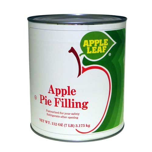 Apple Leaf Apple Pie Filling, 116 Ounce -- 6 per case. by Knouse Foods