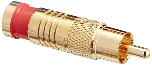 (Platinum Tools 18056 RCA RG59 Compression, Gold 6/Clamshell, Pack of 6)