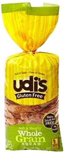 Udi's Gluten Free Rye Style Bread, 16.3 oz (frozen)