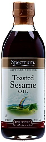 Spectrum Sesame Oil Toasted Unrefined