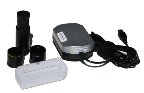 Ample Scientific TCA-3.0C PACK 3.0 MP Digital Microscope CMOS Camera with Image Capturing and Processing Software 2.8 x 2.8 Micron Pixels