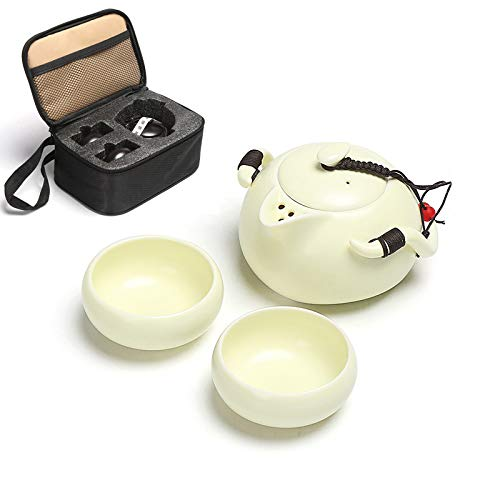 Tea Soup & Fine Day Chinese Portable Travel Tea Set Zen, - Leaf Tea Wulong