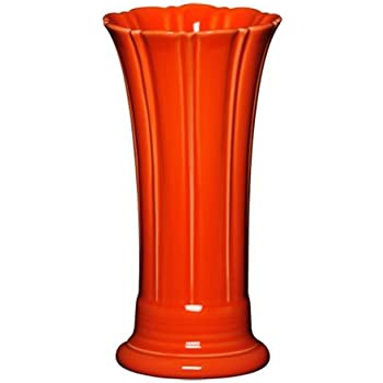 Fiesta Ceramic Medium Flower Vase - Poppy