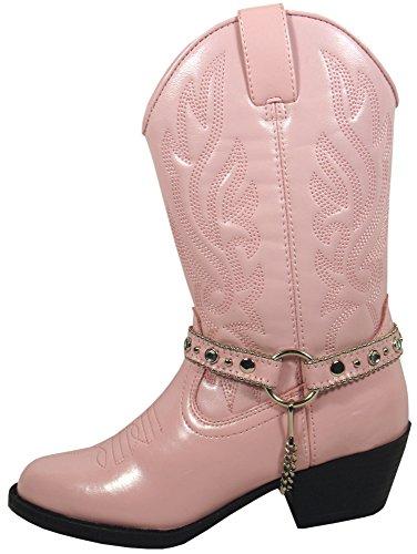 Smoky Mountain Kids Charleston Western Boots - Pink Toddler -