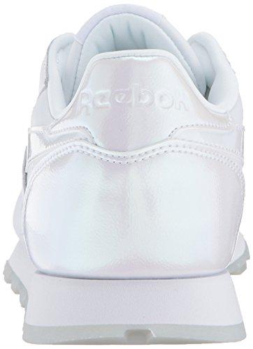ReebokCL LTHR L - Cl Lthr L Damen Pearl- White/White/Ice