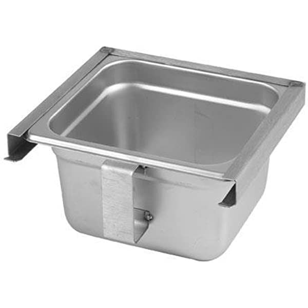 Amazon Com Generic 31915 Exhaust Hood Grease Tray Cup Slide Out Type Stainless Steel Industrial Scientific