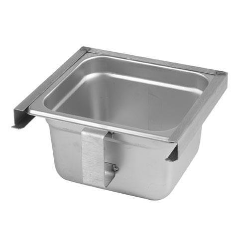 Generic 31915 Exhaust Hood Grease Tray/Cup Slide Out Type Stainless Steel