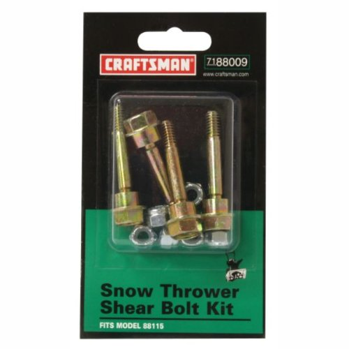 Craftsman Snowblower Shear Bolt Kit 88009 88115 8815