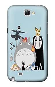 S1126 Totoro Mononoke Case Cover For Samsung Galaxy Note 2