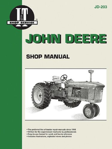 John Deere Shop Manual JD-203 (John Deere Tractor Service Book)