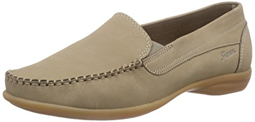 Taupe Sioux Mocassins 161 Grey Women's Babs rYqYwX1