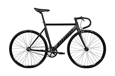 Pure Cycles Keirin Complete Track Bike with Ultra-Light Triple-Butted 6061 Aluminum Frame