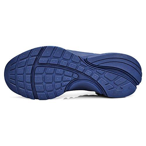 Walking Casual Lightweight Breathable Mesh Mxson Blue Shoes Street Sport Women's Ultra Sneakers 0xzwq1H