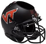 Schutt NCAA Virginia Tech Hokies Helmet Desk Caddy, Matte Black