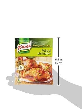 Knorr - Salsa Desh Pollo Chilindrón 52 gr: Amazon.es: Alimentación y bebidas