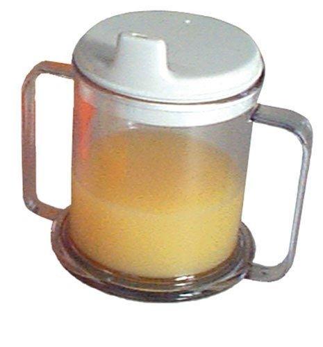 `Mug Double-Handed w/Lid
