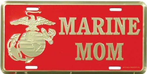 US-Marine-MOM-License-Plate