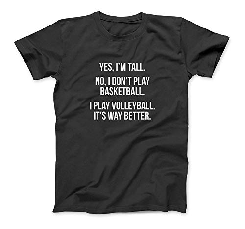 Tall people play volleyball funny graphic tee shirt gift Sweatshirt Hoodie Tank Top For Men Women Kids
