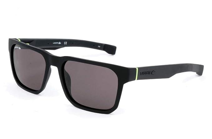 Lacoste L877S - Gafas de Sol para Hombre, Negro, 55: Amazon ...