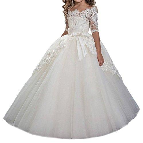 NND Baby Princess Flower Girl's Dress Girl's Wedding GownIY6
