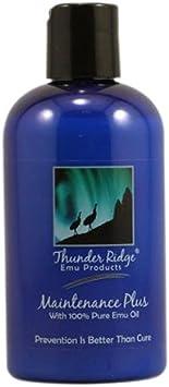 Thunder Ridge Emu Products Maintenance Plus Oil, 8 Fluid Ounce