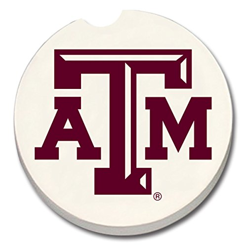 Texas A&M Aggies 2-Pack Absorbent Car Coasters