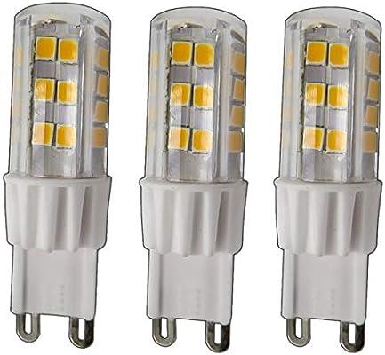 G9 Bombilla LED 5 vatios 51smd regulable blanco cálido (para regulador Adecuado) 220/230 V, 330 °