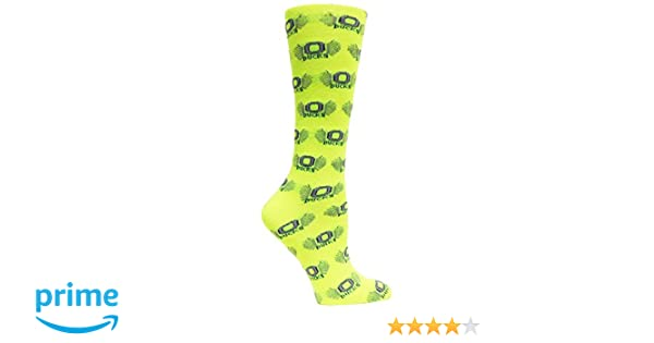 Donegal Bay NCAA Oregon Ducks One Size Fits Most Yellow Color Volt Tube Socks