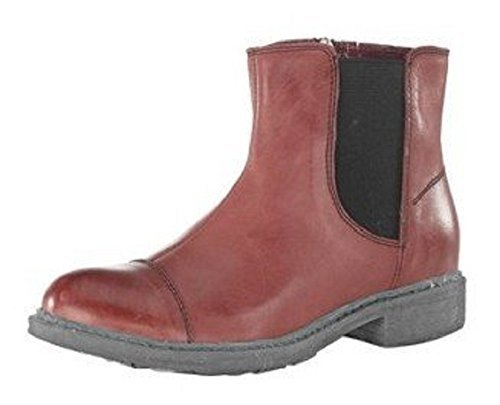 CHILLANY Women's Stiefelette Boots Rouge - Rouge Be31nr