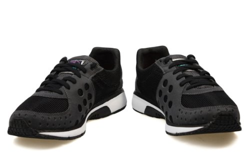 Puma Faas 300 Black Dark Shadow Dewberry Women Trainers, UK 3